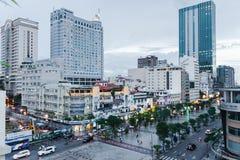 Hô Chi Minh Ville downtown Royalty Free Stock Photos