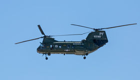 H-46 Chinook Helicopter Stock Photography