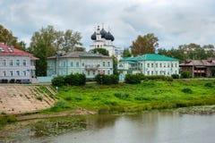 6h du matin de Naberezhnaya Vologda Images libres de droits