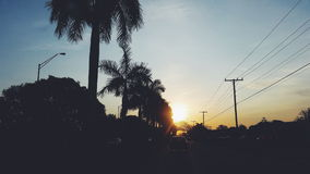 7h du matin Miami Image stock