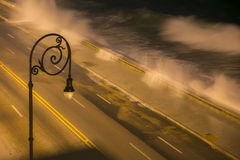 3h du matin sur le Malecon photographie stock