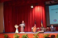 H e Petro波罗申科,乌克兰总统 库存图片