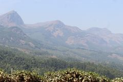 H?gel sehen in Kerala an lizenzfreies stockbild
