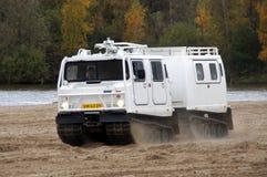 Hägglunds Bandvagn 206 - amphibious vehicle Royalty Free Stock Images