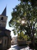 H H Nicolaas en Barbarakerk, Valkenburg -, holandie Fotografia Royalty Free