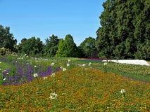 H?henpark bonito Killesberg em Estugarda em Alemanha imagem de stock