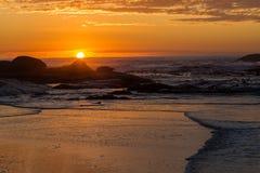 18h30 heures de baie de camps Photographie stock
