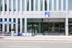 H2 Hotels entrance Stock Photography