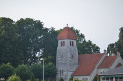 Højerup New Church Royalty Free Stock Photography