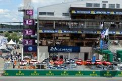 24H LE MANS RACE 2016. 24H Le MANS RACE  for qualifying session 2016 15th june Stock Photo