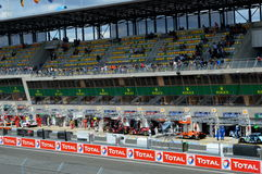 24H LE MANS RACE 2016. 24H Le MANS RACE  for qualifying session 2016 15th june Stock Photography