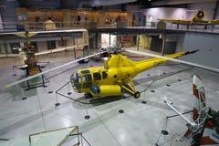 H-5 Libelle - nationales Luftwaffen-Museum von Kanada Lizenzfreie Stockfotos