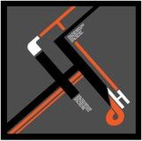 H-logo Fotografie Stock