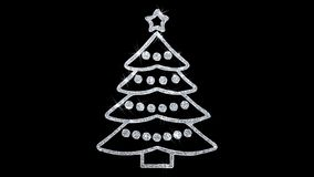 H?lsningar f?r partiklar f?r symbol f?r blinka f?r julgranbest?ndsdel, inbjudan, ber?mbakgrund