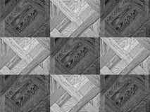 H?lzerner Plankenhintergrund der Schwarzweiss-Beschaffenheiten lizenzfreies stockbild