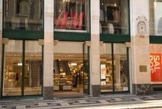 H&M商店 库存照片
