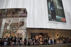 H&M存储空缺数目在吉隆坡马来西亚 库存照片