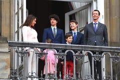 H M 女王/王后MAGRETHE庆祝78个YARS生日 库存图片