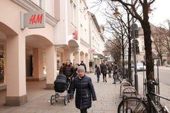 H&M Fotografia Stock