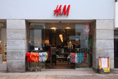 H&M in Copenhagen Stock Image