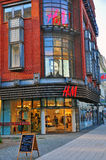 H&M department store in Poland Royalty Free Stock Photos