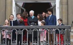 H M DROTTNINGEN MAGRETHE FIRAR FÖDELSEDAG FÖR 78 YARS Royaltyfria Bilder