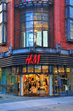 H&M flagship store in Poznan, Poland Royalty Free Stock Photography