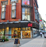 H&M flagship store in Poznan, Poland Stock Images