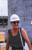 H.M.The Königin Margrethe II am großen Gurt Stockfotos