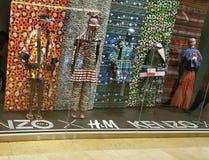 H&M KENZO Lineup royaltyfria bilder