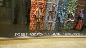 H&M KENZO Lineup fotografering för bildbyråer