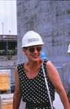 H.M.The Koningin Margrethe II bij Grote riem Stock Foto's