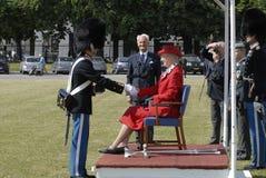 H M królowa MARGRETHE II Obrazy Stock