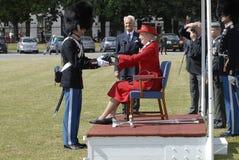 H M królowa MARGRETHE II Fotografia Stock