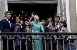 H M KRÓLOWA MARGTRHE II ŚWIĘTUJE 75 urodziny Fotografia Stock