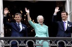 H M KRÓLOWA MARGTRHE II ŚWIĘTUJE 75 urodziny Zdjęcia Royalty Free