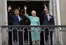 H M KRÓLOWA MARGTRHE II ŚWIĘTUJE 75 urodziny Obrazy Royalty Free