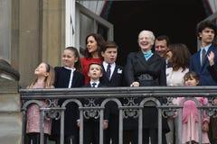 H M LA REINE MAGRETHE CÉLÈBRE L'ANNIVERSAIRE DE 78 YARS Photo stock