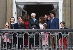H M LA REINE MAGRETHE CÉLÈBRE L'ANNIVERSAIRE DE 78 YARS Image stock