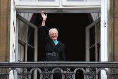 H M LA REINE MAGRETHE CÉLÈBRE L'ANNIVERSAIRE DE 78 YARS Images libres de droits