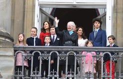 H M LA REINE MAGRETHE CÉLÈBRE L'ANNIVERSAIRE DE 78 YARS Images stock