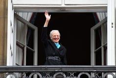 H M LA REINE MAGRETHE CÉLÈBRE L'ANNIVERSAIRE DE 78 YARS Image libre de droits
