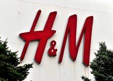 H&M Logo Immagine Stock