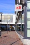 H&M mody sklepu znak Obrazy Royalty Free