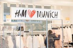 H&M munich Fotos de Stock Royalty Free