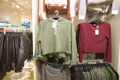 H & m-opslag royalty-vrije stock afbeelding