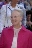 H.M.The QUEEM MARGRETHE BIJ het OPENEN van NACHT Royalty-vrije Stock Foto's