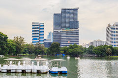 H.M.Queen Sirikit Building and Bhumisirimangkhlanusorn Building Stock Image