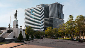 H.M.Queen Sirikit Building in Chulalongkorn hospital Stock Photo