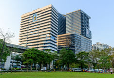 H.M.Queen Sirikit Building in Chulalongkorn hospital Stock Image